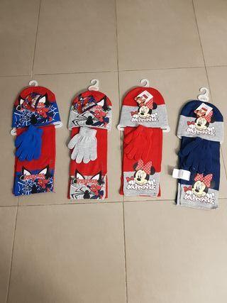conjunto gorro, guantes y bufanda