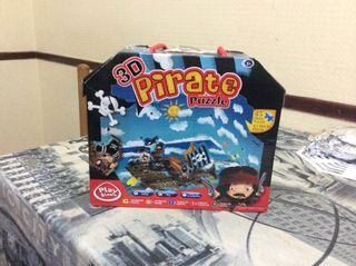 Puzzle Pirata 3d