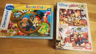 Colección puzzles.
