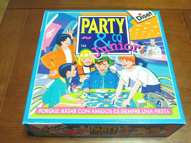 Juego De Mesa Party Amp Co Junior De Segunda Mano Por 10 En