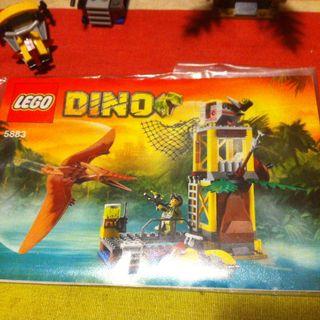 Lego Dino 5883 La Torre Del Pteranodon Dinosaurio