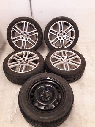 ruedas opel vectra 1.9 cdti gts del 2003
