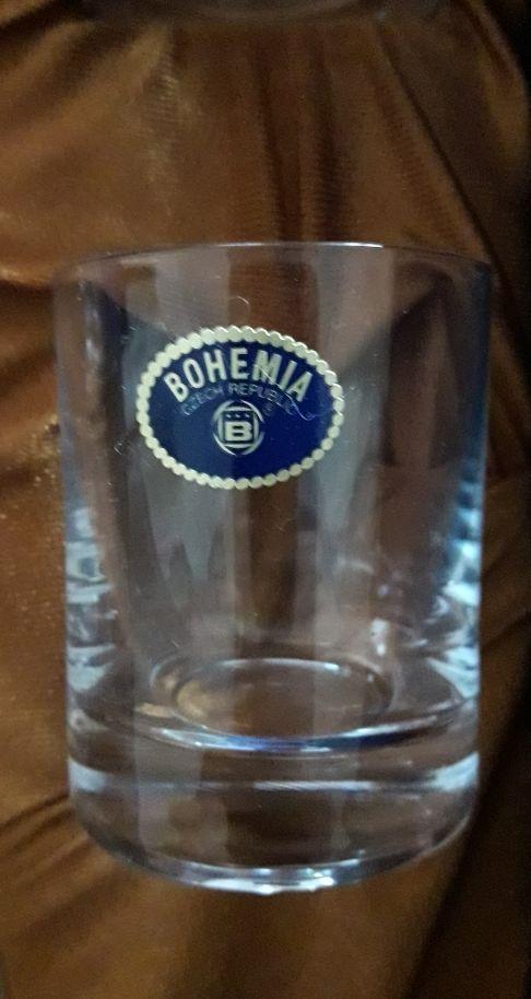 Juego de licor de Bohemia