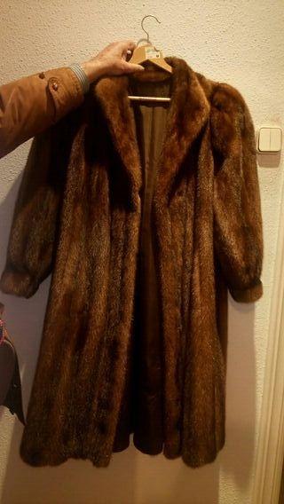 abrigo lomos de vison