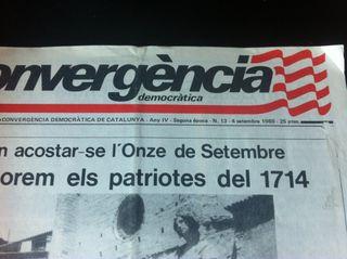 Convergència Democràtica Revista Butlleti 1980