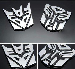 NUEVO. Emblema Transformers
