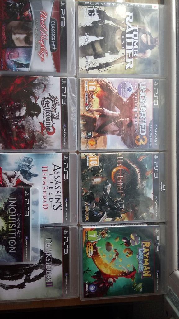 Lote 13 juegos de PS3