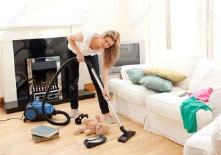 cuido niños y limpio casas