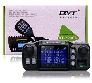 Mini Pro QYT KT-7900D Quad Band