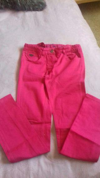Pantalón tejano rosa