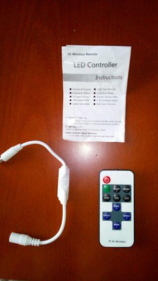 Control remoto luces led