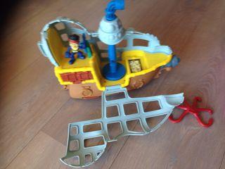 Submarino Jake y los Piratas