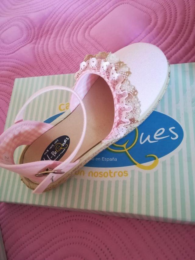 zapatos de niña número 29