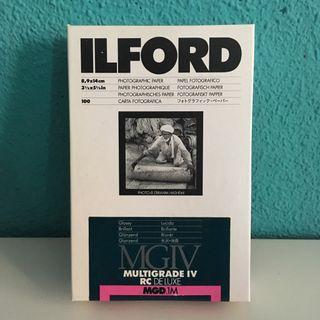 Papel fotográfico Ilford