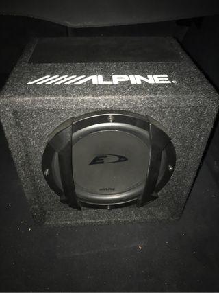 Subwofer Alpine
