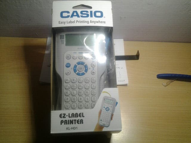 Casio Easy Label Printing Anywhere