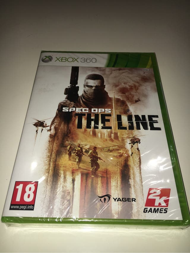 Spec Ops The Line XBOX 360 español nuevo precintad
