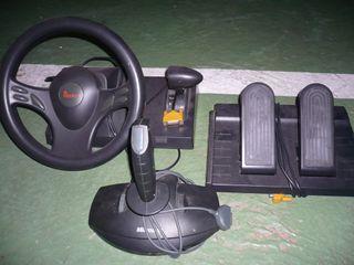 volante y joystick para pc