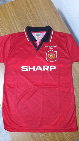 Camiseta Manchester United F.A.Cup Final 1996