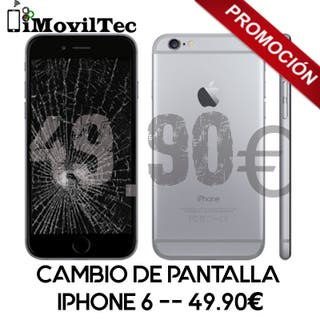 Reparación pantalla iPhone 6