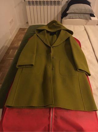 Abrigo de lana Caractère oliva
