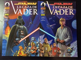 STAR WARS LA CAZA DE VADER 1-2 COMPLETA NORMA
