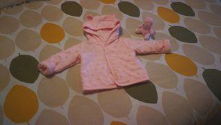 chaqueta acolchada bebe