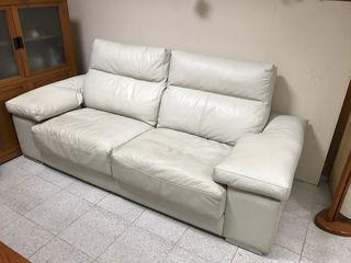 Sofa piel espesorada