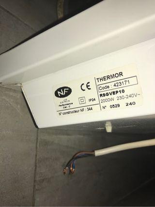 Radiateur Electrique Termor