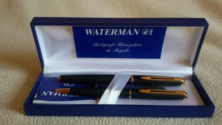 Pluma y bolígrafo Waterman