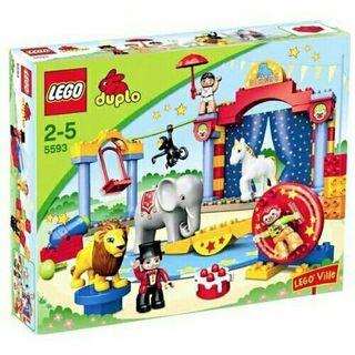 Lego duplo circo 5593.