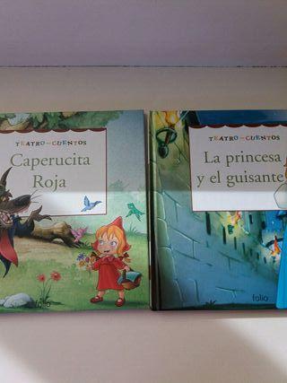 libros de lectura teatro -cuentos