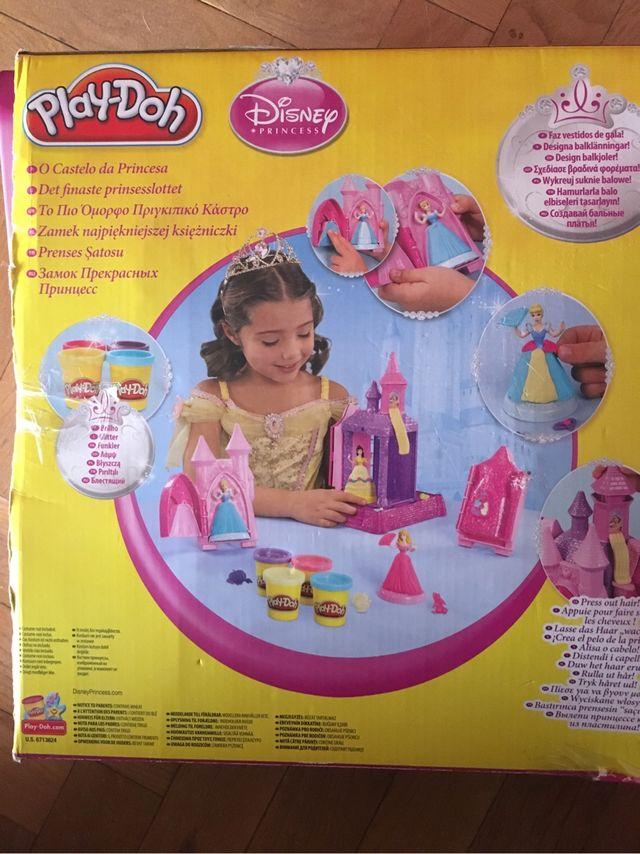Castillo de princesas play doh