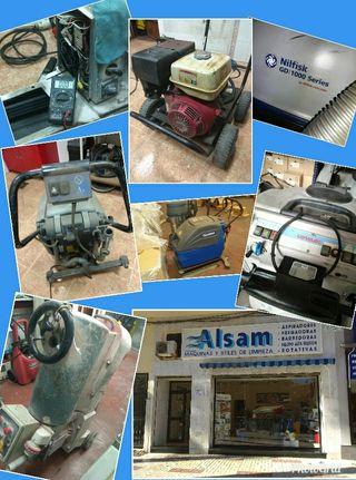 . reparación de maquinaria de limpieza