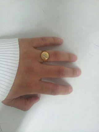 anillo de los tres oros.