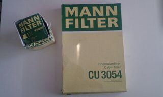 filtros de aire y aceite