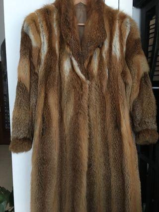 Precio abrigo zorro nuevo