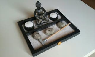 Buda Zen relajante portavelas
