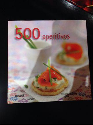 Libro 500 aperitivos
