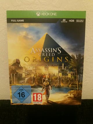 ASSASSIN'S CREED ORIGINS CODE FOR XBOX ONE