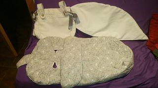 saco,capota y bolso