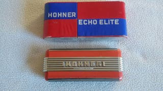 Lote de armonicas Hohner vintage