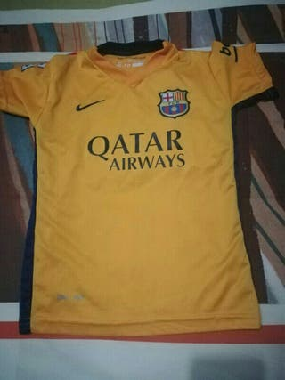 Camiseta del barsa de Messi