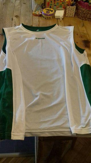 camiseta de entrenamiento baloncesto