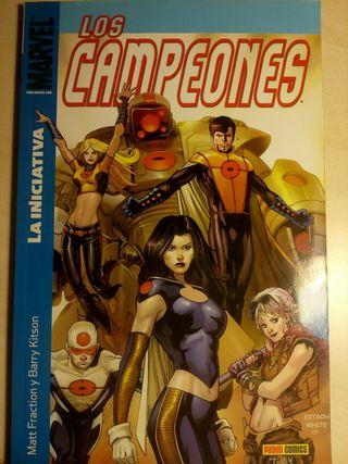 Cómic Los Campeones (Marvel)