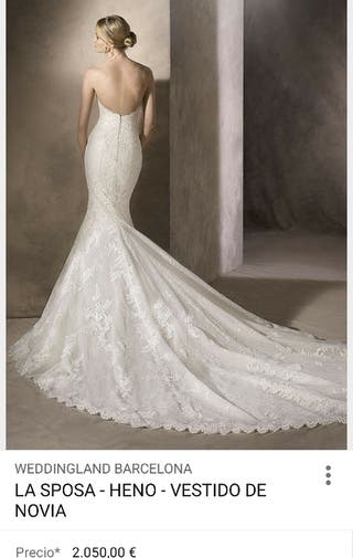 1021e4cc52 Vestido de novia de marca de segunda mano en la provincia de Badajoz ...