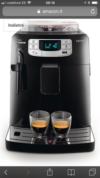Cafetera philips saeco