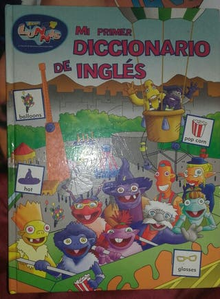 Libro Infantil Mi primer diccionario de inglés