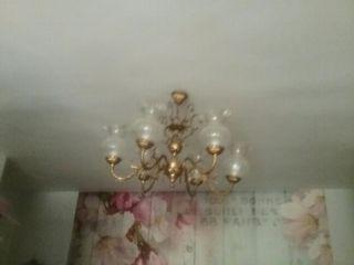 Lámpara techo 2 unds