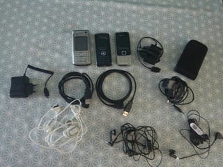 moviles + cables